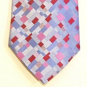 Rãola Sigillet Multi Colored Check Silk Italy